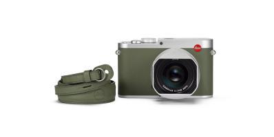 WEB_Image Leica Q Khaki Spesialutgave leica_q_khaki_carrying_strap_front_rgb34270971